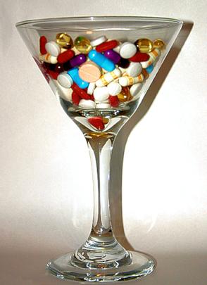 Tägliche Dosis Medikamente